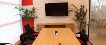 Meeting & conference rooms at coworking space near sector 16 , Noida - The Office Pass
