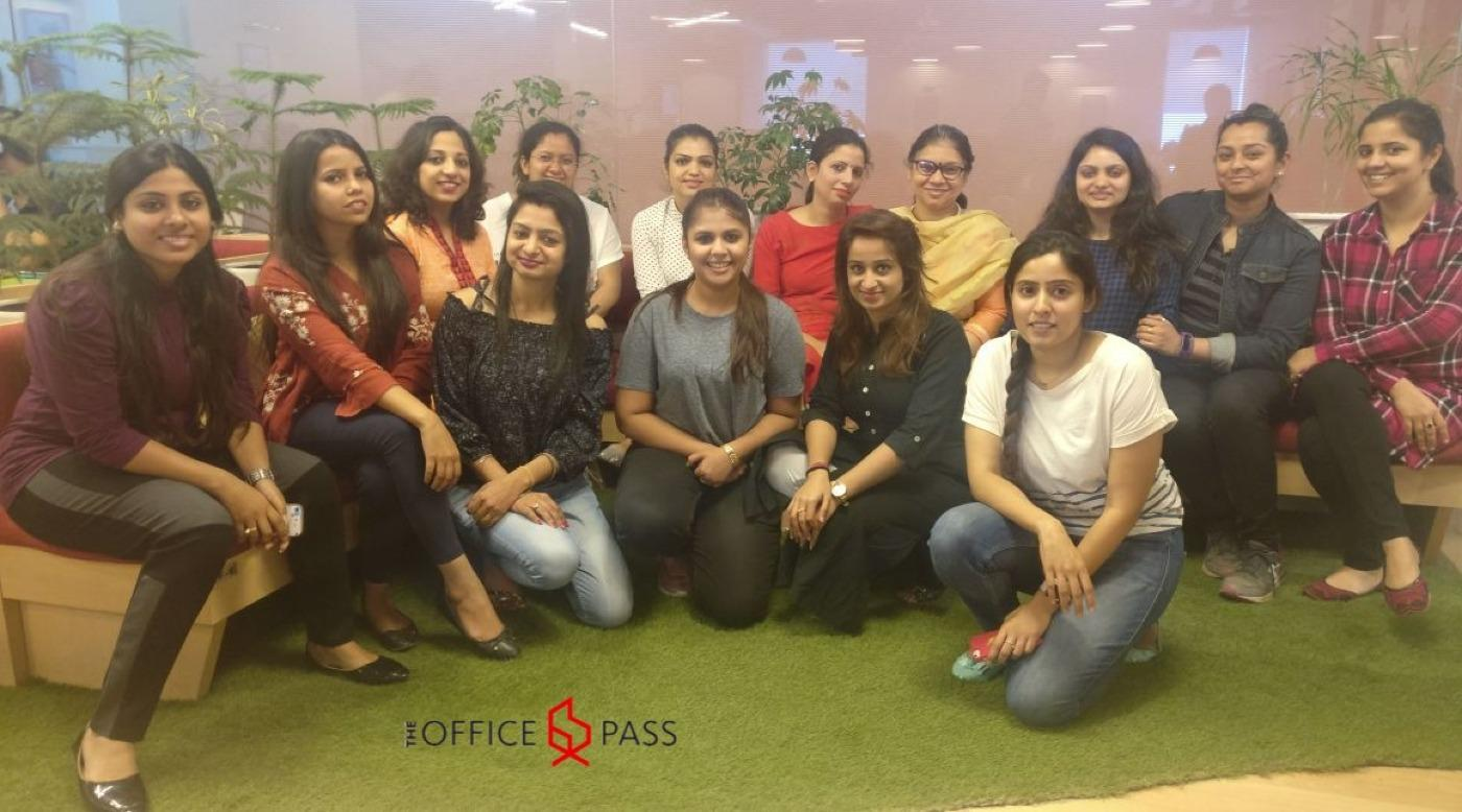 Women Coworkers at The Office Pass, Gurgaon