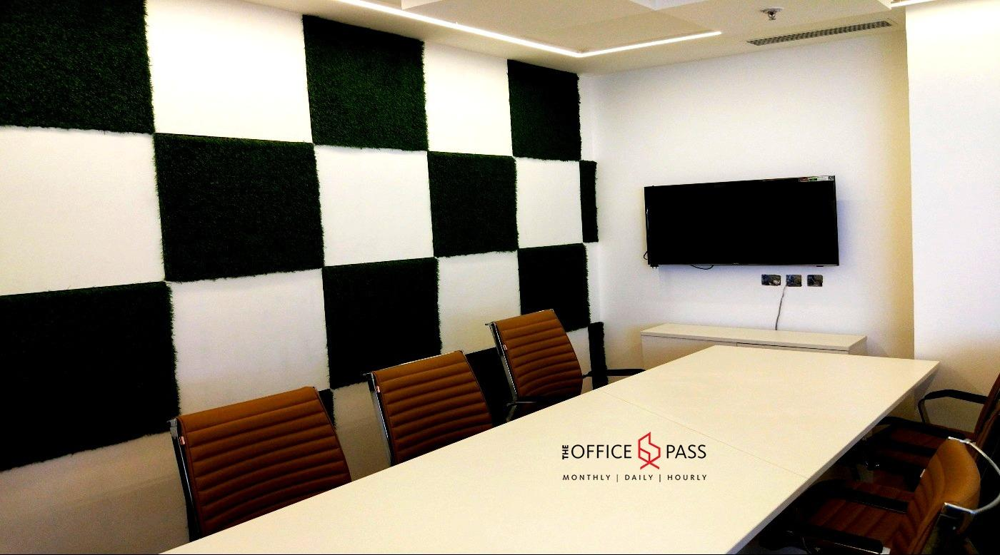 Conference room @ The Office Pass, Coworking space, New Gurgaon, near NH48