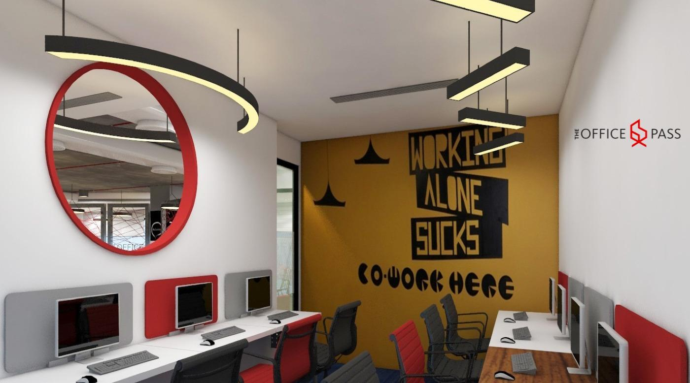 Private Office @ Coworking Office, Vipul Trade Centre, Sohna Road - The Office Pass (TOP)